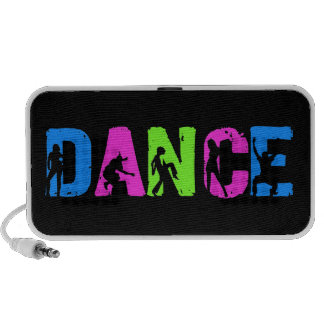 Dance Music - Hip Hop Pop Colors PC Speakers