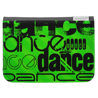 Dance; Neon Green Stripes Kindle 3G Cases
