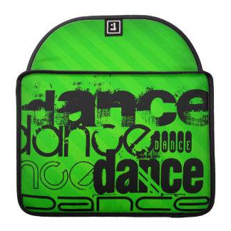 Dance; Neon Green Stripes MacBook Pro Sleeve