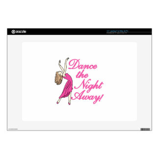 "Dance Night Away 15"" Laptop Decal"