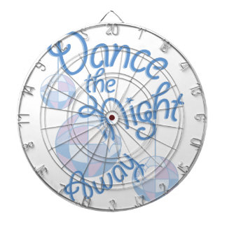 Dance Night Away Dartboard With Darts