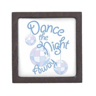 Dance Night Away Keepsake Box