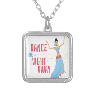 Dance Night Away Silver Plated Necklace