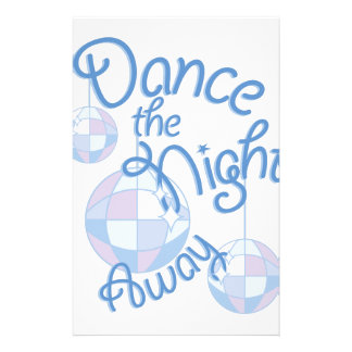 Dance Night Away Stationery