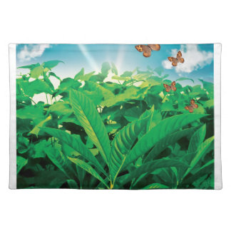 Dance of butterflies American MoJo Placemats