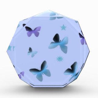 Dance of Butterflies in Blue Acrylic Award