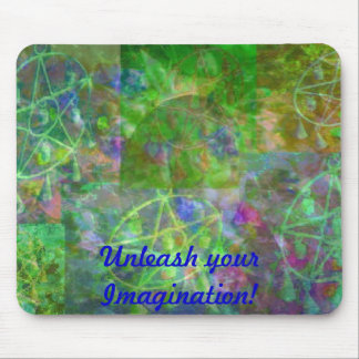Dance of Colors in MaMaw's Garden by JudyMarisa Mouse Pad