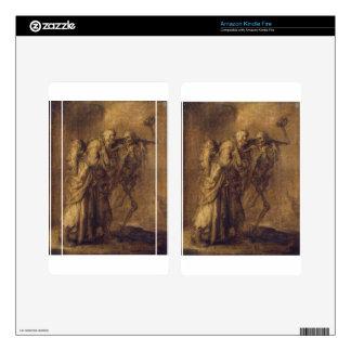 Dance of Death by Adriaen van de Venne Kindle Fire Skins