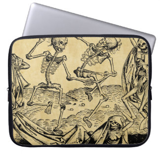 Dance Of Death By Michael Wolgemut 1493 Laptop Computer Sleeves