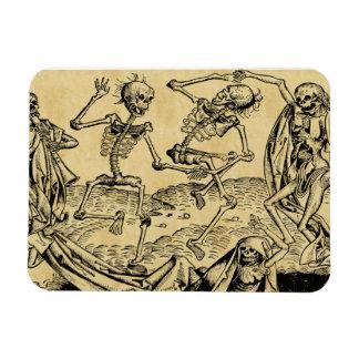 Dance Of Death By Michael Wolgemut 1493 Magnet