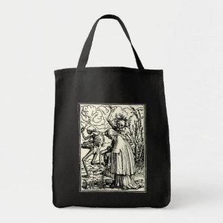 Dance of death, Dance OF macabre (getting leg) Tote Bag