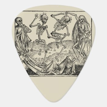 Dance Of Death/dance Of Macabre Guitar Pick by andersARTshop at Zazzle