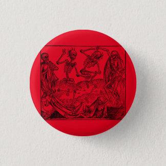 Dance of death/Dance OF macabre Pinback Button