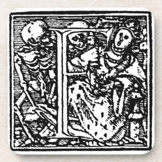 Dance of Death F Cork Coaster