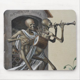 Dance of Death in Basel | Memento Mori Mouse Pad