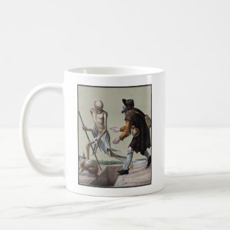 Dance of Death in Basel   The Blind Man Coffee Mug