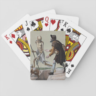 Dance of Death in Basel | The Blind Man Playing Cards