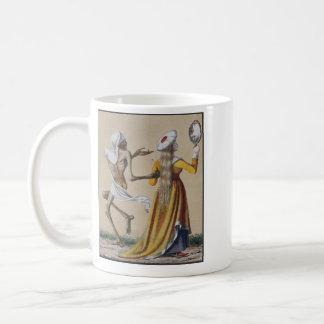 Dance of Death in Basel   The Noblewoman Classic White Coffee Mug