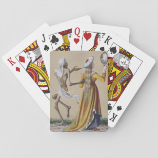 Dance of Death in Basel | The Noblewoman Playing Cards