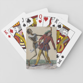 Dance of Death in Basel | The Young Man Poker Cards