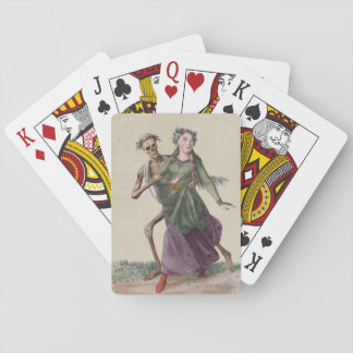 Dance of Death in Basel | The Young Woman Playing Cards