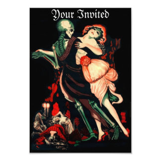 Dance of Death Invitation