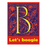 "Dance of Death ""Let's Boogie"" B Post Cards"