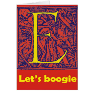 "Dance of Death ""Let's Boogie"" E Card"