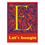 "Dance of Death ""Let's Boogie"" E Post Card"