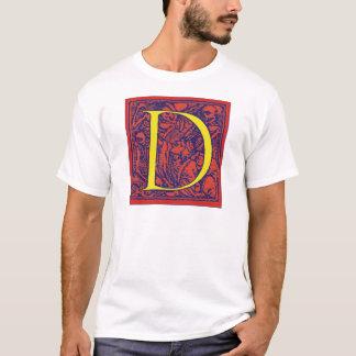 Dance of Death Letter D T-Shirt