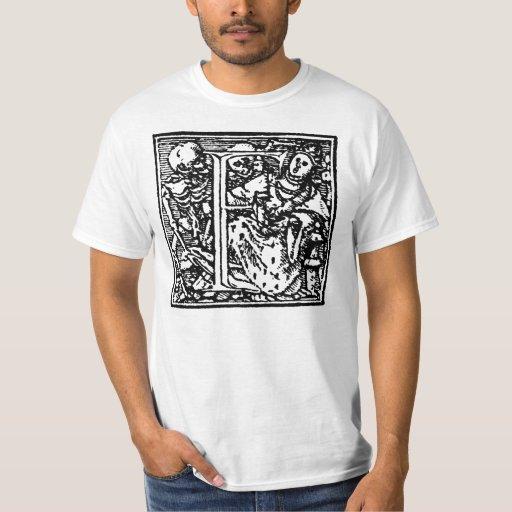 Dance of Death letter F Shirt