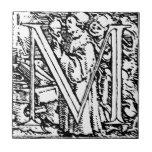 Dance of Death Letter M Tile