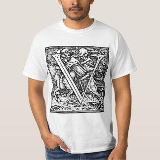 Dance of Death letter V Shirt