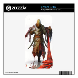 Dance of Death phone skin Decals For The iPhone 4S