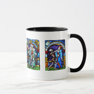 Dance of Death Stained Glass Mug