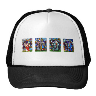 Dance of Death Stained Glass Trucker Hat