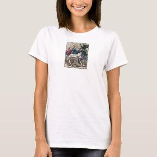 Dance of Death - The Gambler - 1816 Color Prints T-Shirt