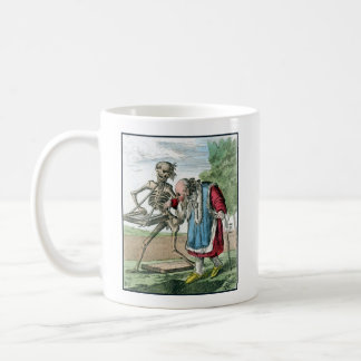 Dance of Death - The Old Man - 1816 Color Print Classic White Coffee Mug