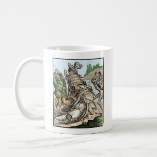 Dance of Death - The Waggoner - 1816 Color Print Classic White Coffee Mug