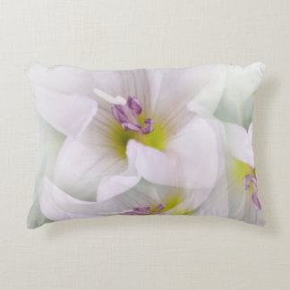 dance of flowers accent pillow