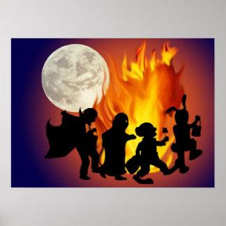 Dance of Halloween - Posters