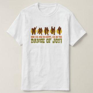 Dance of Joy Funny 80s Retro Pop Culture Graphic T-Shirt