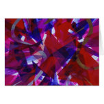 Dance of Life - Abstract Whimsical Light Greeting Cards