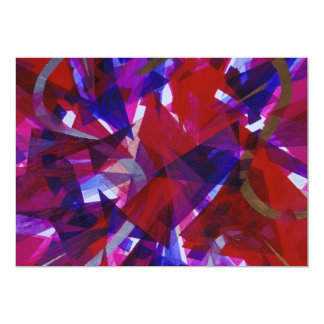 Dance of Life - Abstract Whimsical Light Card