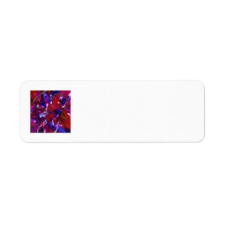 Dance of Life - Abstract Whimsical Light Label