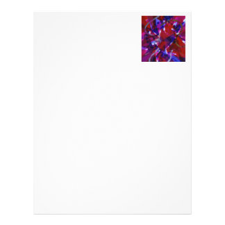 Dance of Life - Abstract Whimsical Light Letterhead