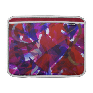 Dance of Life - Abstract Whimsical Light MacBook Air Sleeve