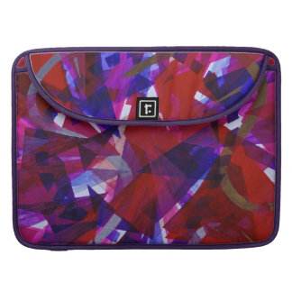 Dance of Life - Abstract Whimsical Light MacBook Pro Sleeve