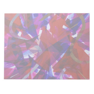 Dance of Life - Abstract Whimsical Light Note Pad