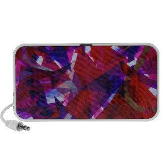 Dance of Life - Abstract Whimsical Light Portable Speaker